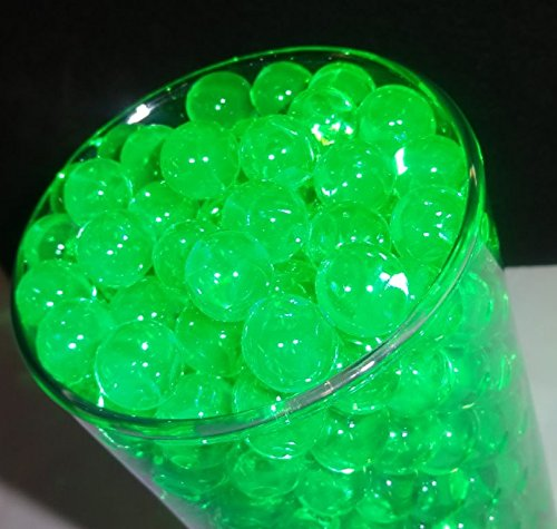 Water beads - Translucent (Green Jade) - Water Absorbing & Expanding - All Event Vase Filler Centerpiece Decorations & water reducing gel - Centerpiece Jade
