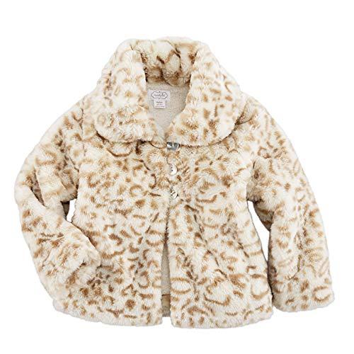 Mud Pie Girls Brown Faux Fur Vest
