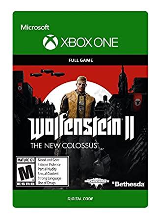 Wolfenstein II: The New Colossus - Xbox One [Digital Code]