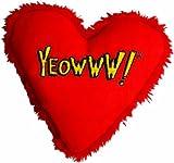 Yeowww Hearrrt Attack Catnip Toy, My Pet Supplies