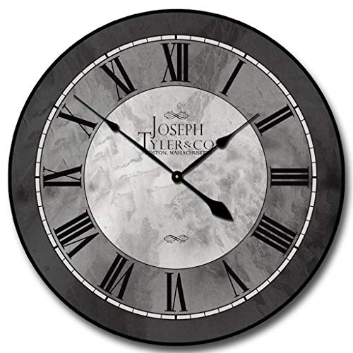 Grand Estate Wall Clock, Available in 8 Sizes, Most Sizes Ship 2-3 Days, Whisper Quiet.