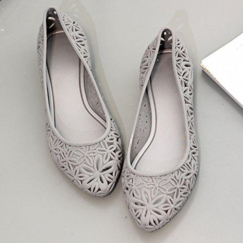 DULEE - Sandalias deportivas de Caucho para mujer gris