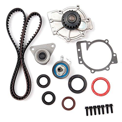 SCITOO Timing Belt Water Pump Tensioner Gasket Set Fits 1998-2010 Volvo V40 V70 XC70 XC90 C70 S40 S60 S70 S80 1.9L 2.3L 2.4L 2.5L Engine