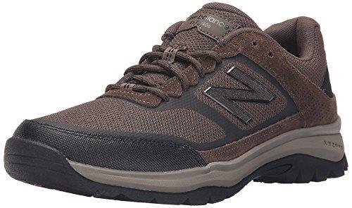 New Balance Mens MW669V1 Walking Shoe, Wren/Orange, 41.5 D(M) EU/7.5 D(M) UK