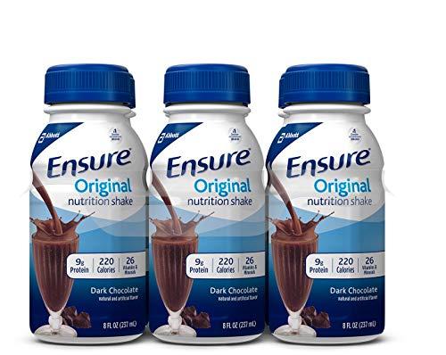 Ensure Original Nutrition Shake Dark Chocolate - 6 CT