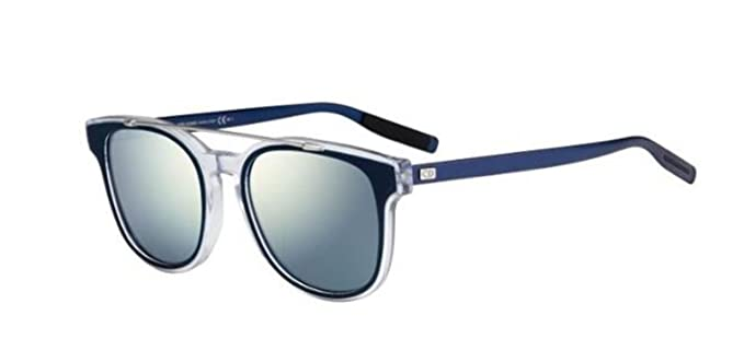 9208157e6f Image Unavailable. Image not available for. Colour  Authentic Christian Dior  Homme Black Tie 211 S LCU T7 Blue Palladium Sunglasses