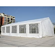 Outsunny Carport Wedding Tent, 32'x 20'