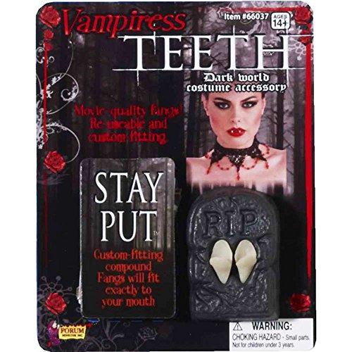 Forum Novelties 66037 Vampiress Fangs