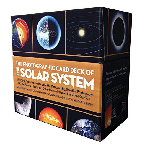 The Photographic Card Deck of the Solar System: 126 Cards Featuring Stories, Scientific Data, and Big Beautiful Photographs of All the Planets, Moons, and Other Heavenly Bodies That Orbit Our Sun [Hardcover] [2012] (Author) Chown Marcus pdf epub