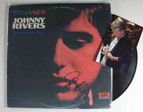 Johnny Rivers Signed Autographed
