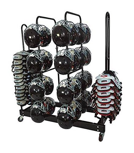 (Athletic Connection Combo Helmet-Shoulder Pad Rack)