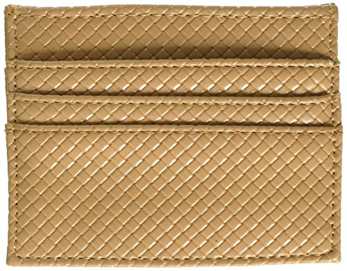 Slim Wallet Tan, One Size