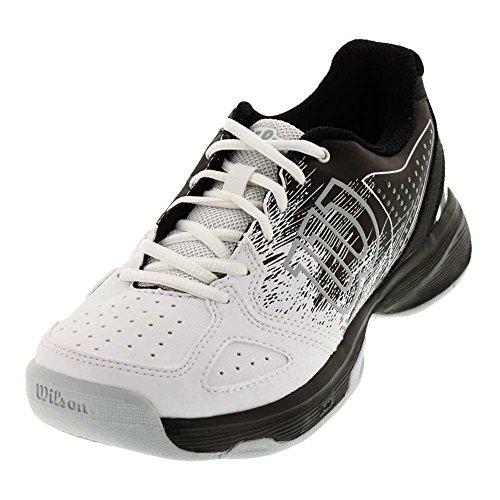 Wilson Kids KAOS Jr Comp Unisex Tennis Shoe Black/White (Size 1)