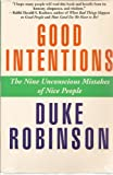 Good Intentions, Duke Robinson, 1578950708