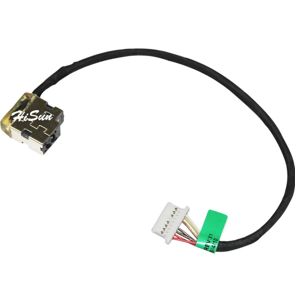 New Laptop AC DC Power Jack plug in Socket Connector with Cable Harness For HP Pavilion 15-BA009dx, 15-BA009NF, 15-BA009NO, 15-BA009NT, 15-BA010cy, 15-BA010NH, 15-BA010NO, 15-BA010NR, 15-BA010NT