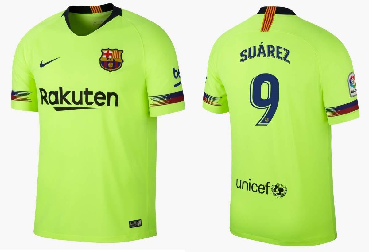 F.C. Barcelona Trikot Kinder 2018-2019 Away - Suarez 9