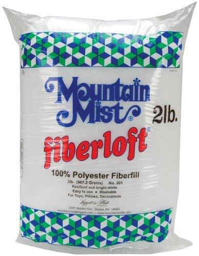 Fiberloft Polyester Stuffing-32 Ounces FOB:MI 1 pcs sku# 645504MA (Fiberloft Stuffing Polyester)