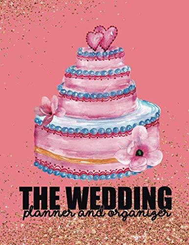 The Wedding Planner & Organizer: Wedding Planner Organizer Checklist Journal Notebook for Newly Engaged Couple Pink