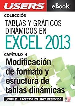 Amazon.com: Tablas y gráficos dinámicos en Excel 2013: Modificación