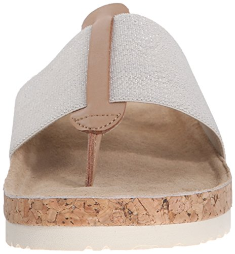 Skechers Cali Granola brillo elegante del flip-flop Natural