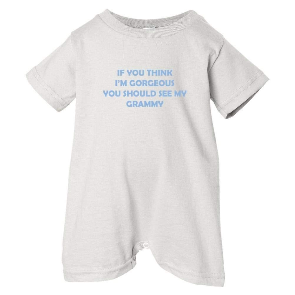 So Relative Unisex Baby Im Gorgeous See Grammy T-Shirt Romper