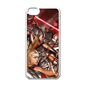 X Men Comic iPhone 5c Cell Phone Case White TPU Phone Case SV_178648