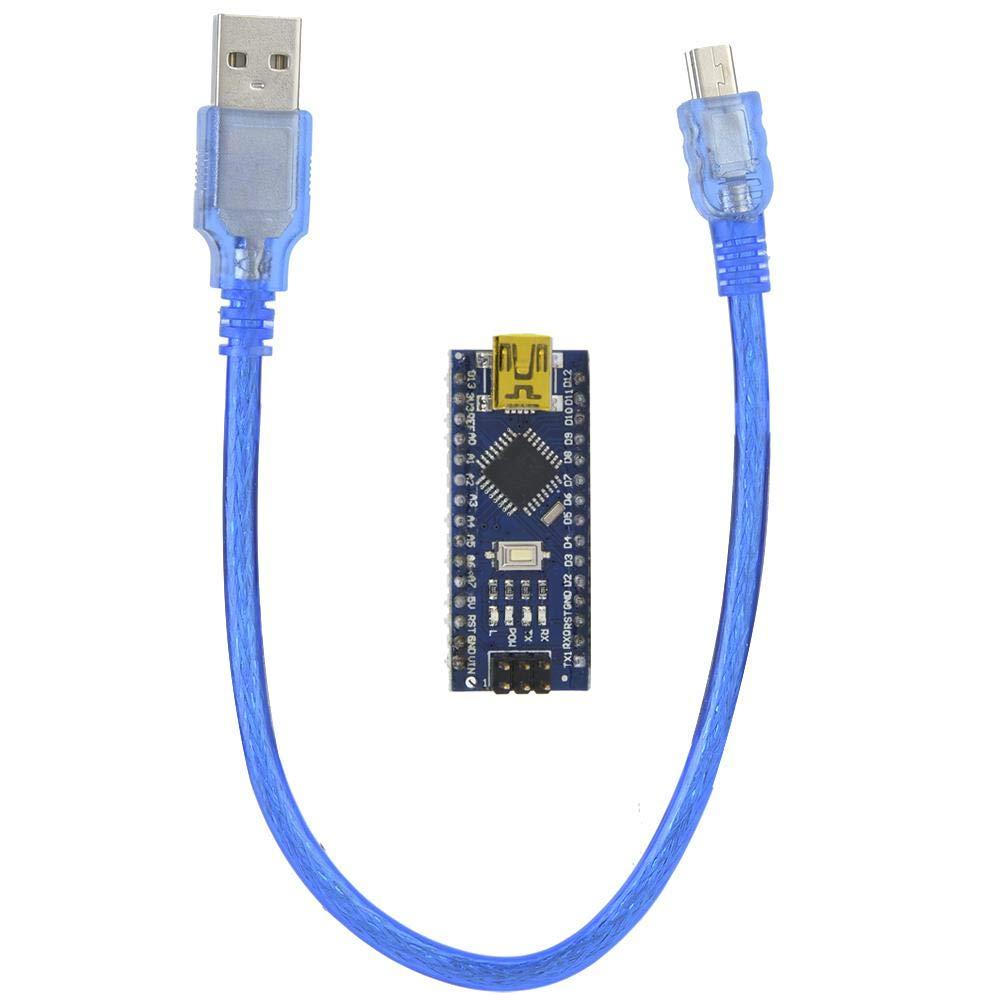 M/ódulo de placa de controlador 5V//12V DC placa Nano con Mini USB para Arduino V3.0 12 Entrada//Salida digital placa ATMEGA328P