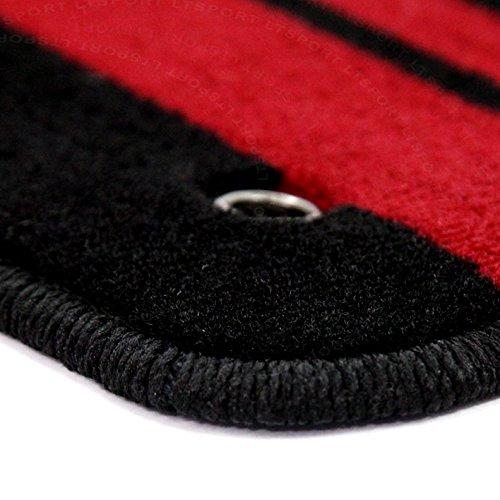 Quality Set Of Black Pioneer Mats All Carpet Heavy Duty Carpet For Honda