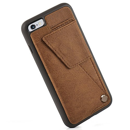 iPhone Wallet Case RFID Blocking Shockproof