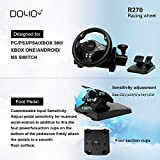 DOYO Gaming Racing Wheel 270 Degree Driving Force