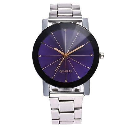POJIETT Marcas de Relojes Hombre de Lujo Reloj de Pulsera de Cuarzo de Acero Inoxidable Relojes para Hombre Caballero de Negocios Wrist Watch Joya Regalos ...