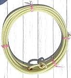 AJ Tack Wholesale 30 Foot Waxed Nylon Medium Lay Rope