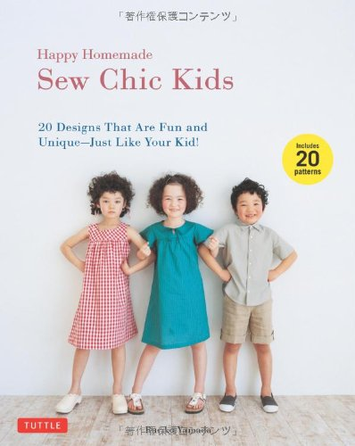 Happy Homemade: Sew Chic Kids: 20 Designs That are Fun and Unique-Just Like Your Kid! - Homemade Character Costumes Ideas