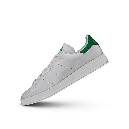 size 40 a4b0f 0ced0 Adidas Originals Stan Smith Boost BB0008 Scarpe Da Ginnastica Uomo Bianco  Amazon.it Abbigliamento