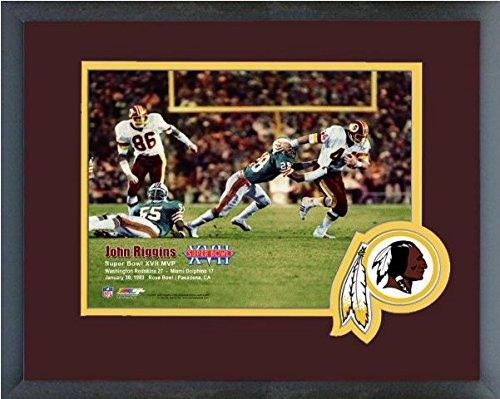 John Riggins Washington Redskins Super Bowl Xvii Mvp Photo  Size  13  X 16   Framed