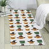 GDBADY The Devil Pumpkin Domestic Sitting Room Bedroom Domestic Carpet