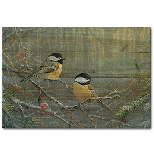 WGI Gallery WA-WBC-128 Winter Breeze Chickadee Wall Art