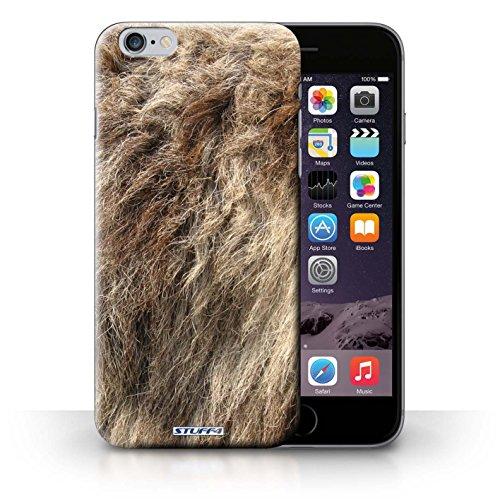 Hülle Case für iPhone 6+/Plus 5.5 / Wolf Entwurf / Tierpelz Muster Collection