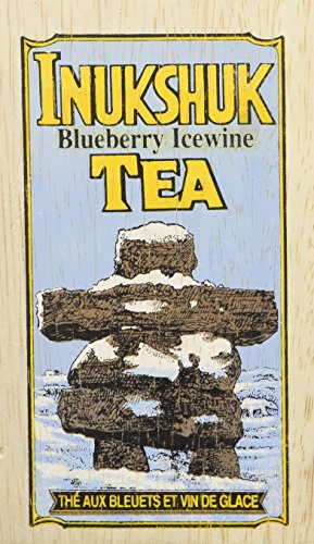 The Metropolitan Tea Company 62WD-18BU-166 Inukshuk 25 Teabags in Upright Wood (Ontario Ice Wine)