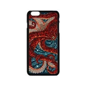 "UNI Cover/Design Case For IPhone 6 4.7"" TPU Rubber Gel - Octopus"