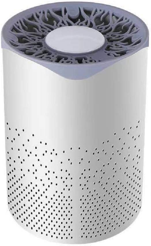 Air Purifier , for Home with True HEPA Filters,Low Noise Portable Air Purifier with Night Light,Desktop USB Air Cleaner