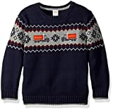 #8: Gymboree Toddler Boys' Long Sleeve Crewneck Sweater Train