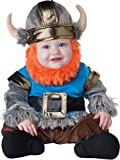 InCharacter Baby Boy's Viking Costume, Silver/Blue, Small(6-12mos)