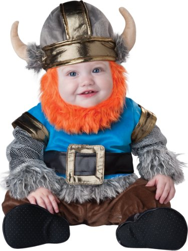 InCharacter Baby Boy's Viking Costume, Silver/Blue, Large(18mos - (Female Barbarian Costume)