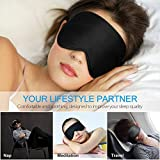 TechRise Sleep Mask, Skin - Friendly Comfortable