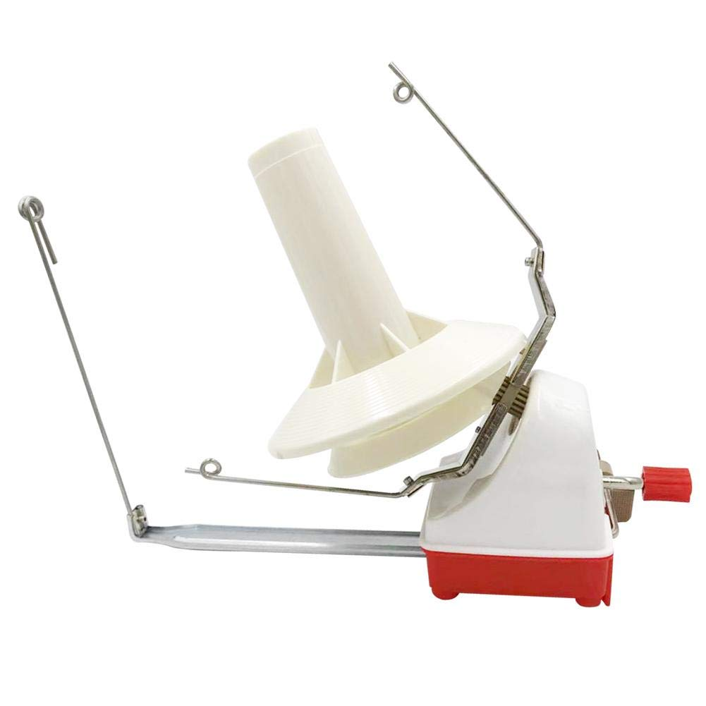 Yarn Ball Winder, Hand Operated Wool Winder Holder String Ball Coiler for Yarn Fiber Machine