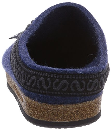 Chaussons adulte Stegmann 8813 Blau 108 mixte Jeans Twaq6a