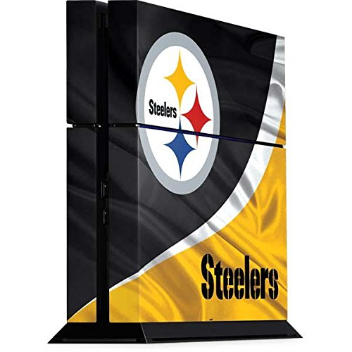 NFL Pittsburgh Steelers Playstation 4 PS4 Console Skin - Pittsburgh Steelers Vinyl Decal Skin For Your Playstation 4 PS4 Console