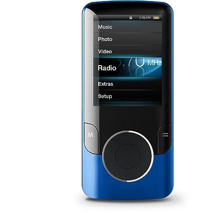 amazon com coby mp707 4gblu 4 gb video mp3 player with fm radio rh amazon com