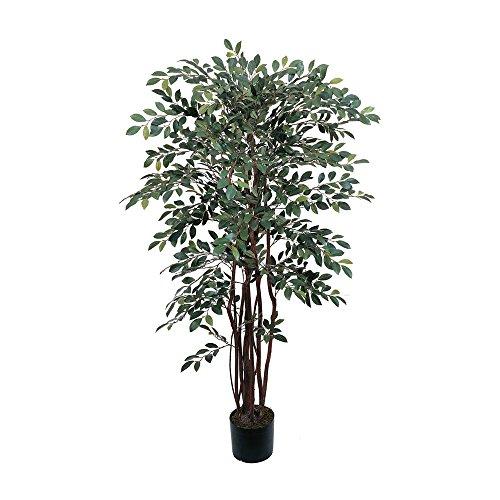Nearly Natural 4' Ruscus Silk Tree Green
